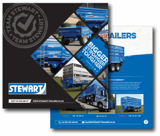 Download the Stewart Trailers} Brochure